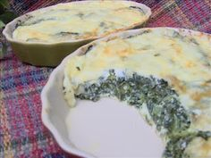 Tasty Tuesday : Low Carb Muenster Spinach Pie (PCOS blog)