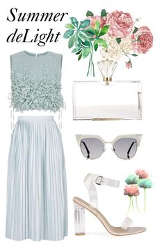 """""""Summer deLight"""" by trend-anonymous on Polyvore featuring Topshop, Ruban, Fendi, Charlotte Olympia, polyvoreeditorial, Summerinspiration and summerdelight"""
