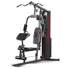 Get over 30 strength training exercises with the Marcy 150 lb Stack Home Gym to effectively burn calories and increase your muscle mass. This home gym features Home Gym Exercises, Gym Workouts, At Home Workouts, Training Exercises, Fitness Exercises, Workout Gear, Bowflex Workout, House Workout, Fitness Routines