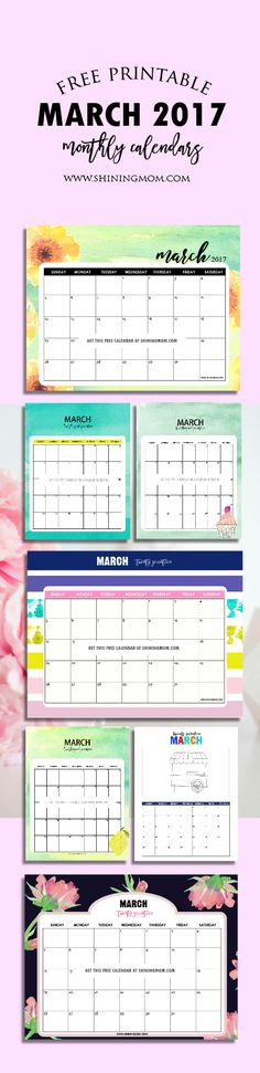 October 2017 Calendar Shining Mom