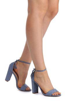 FINAL SALE- Light Blue Nothing Better Heels   WindsorCloud