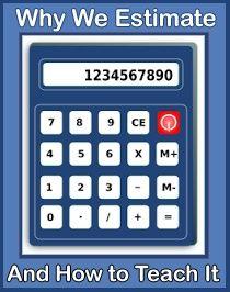 Teaching Estimates: Who is faster? The Calculator or the Estimator? via Shut the Door and Teach Teacher Blogs, Math Teacher, Math Classroom, Maths, Upper Elementary Resources, Math Resources, Online Calculator, Math Place Value, Teacher Stickers