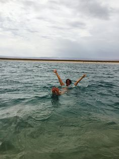 Floating on the Lagoon Cejar :)) #sanpedro #chile