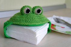 Napkin Holder Little Frog