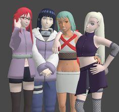Eggheadcobra's Favorite Female Naruto Characters by Eggheadcobra.deviantart.com on @DeviantArt