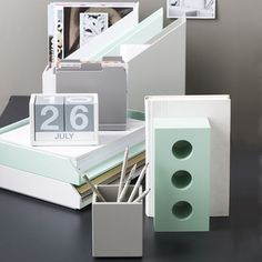 New collection from Design Ideas available now!  Give your workspace an upgrade with these modern and sleek desk accessories. http://www.urbangirl.com/Categories/Designer-Collections/Shop-By-Designer/Design-Ideas.aspx