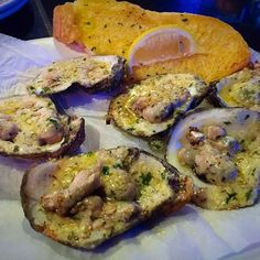 This is a super simple delicious way to serve oysters on the half shell. These oysters are topped with garlic butter and Gruyere cheese, then grilled over charcoal.  Open oysters retaining as much juice as possible. Melt the butter in a micro wave, then add the minced garlic. Pour the butter mixture over each […]