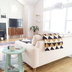 Kirsten Grove's living room via Instagram