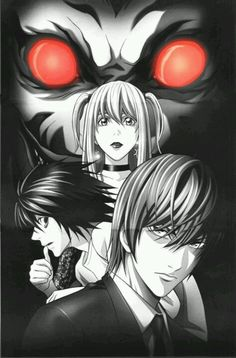 Death Note. Oh this anime! <3 If you haven't seen it I strongly suggest it.