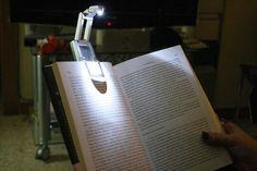 Lampara para leer de noche.