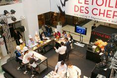 Partage #culinaire en atelier de #cuisine avec Ronan KERVARREC à l'Etoile des Chefs