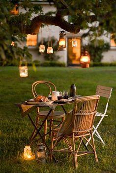 Gemütlicher Sommerabend >> Patio love