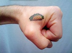 15 Tiny Tattoos Youre Going to Obsess Over via Brit + Co