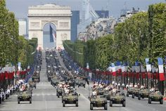 Bestille Day military parade in Paris  PhotoBlog##