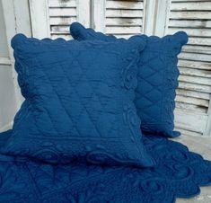 details zu tischl ufer baumwolle wei gesteppt boutis 50x150 provence landhaus shabby ideas. Black Bedroom Furniture Sets. Home Design Ideas