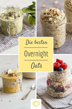 Fast, faster, Overnight Oats: 12 breakfast recipes - food and drink Brunch Recipes, Breakfast Recipes, Smoothies For Kids, Recipe For 4, Breakfast Time, Kitchen Recipes, Clean Eating, Food Porn, Food And Drink