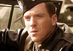 Damian Lewis as Major Richard 'Dick' Winters - Band of Brothers one of the most underrated actors ever, Winters Band Of Brothers, Rupert Penry Jones, Brothers Movie, Damian Lewis, Fall From Grace, Music Tv, Best Tv, I Movie, Just In Case