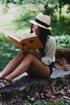 Top it off with a fedora.  And a book, of course.