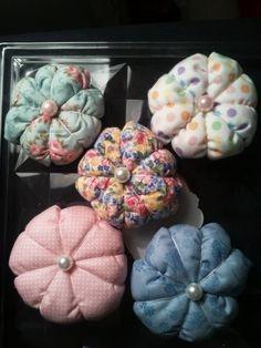 Puffy Flower Brooch