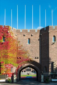 Built in 1912, Stockholm Olympic Stadium looks less like a sports venue and more like a castle.