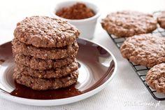 Te ciasteczka to połączenie słodkiego deseru i zdrowej przekąski.
