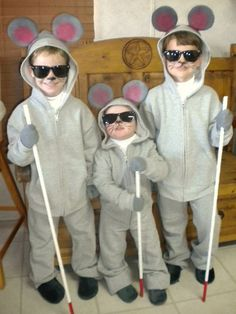 3 Blind Mice...we will be doing this when the boys are older, for sure!