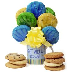 Get Well Soon Cookie Mug – MNM Gifts