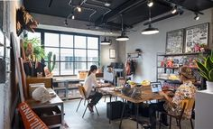 A Tour of Stylish Office in Taichung is a design startup based in Taichung, Taiwan, that designs own branded products such as Small Office Design, Creative Office Space, Small Room Design, Office Interior Design, Office Interiors, Workspace Design, Office Workspace, Design Offices, Grey Interior Doors