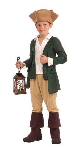 Paul Revere Child Colonial Costume