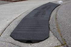 Bridjit Curb Ramps Reduce the Jar to Your Car Caused by Roll-Over Curb Driveways! Bridjit Ramps Protect Your Car And Are Made In The USA from Recycled Tires! Driveway Ramp, Driveway Apron, Old Tires, New Tyres, Tyres Recycle, Upcycle, Curb Ramp, Concrete Driveways, Baby Quilt Patterns