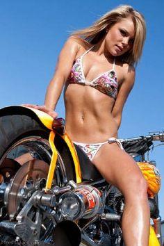 On motorcycle madden meet