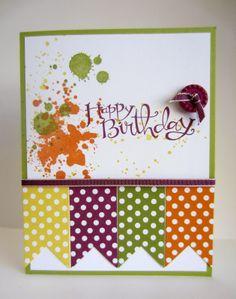 Paper Seedlings: GORGEOUS GRUNGE BIRTHDAY