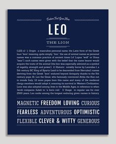 Leo Meaning, Names With Meaning, Gender Neutral Names, Vintage Names, Classic Names, Descriptive Words, Name Art, Character Names, Girl Names