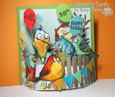 Waterlily Cards by Robyn: Happy 50th