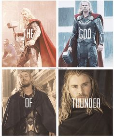 Thor. How is it possible thst his hair got more glamorous?