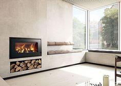 Rais | 700 5kw Wood Burning Insert Fire Black