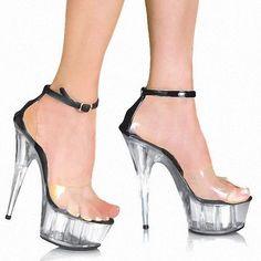 baa0d80047c6 women fashion Platform Sandals sexy clubbing Exotic Dancer shoes 6 inch  strappy Crystal shoes made in china