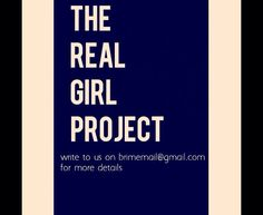 The real girl project is a marketing campaign by Brime which can get you unbelievable discounts (*upto 50%) on Brime's clothes!  Write to us for more details - brimemail@gmail.com  #discounts #campiagn #theRealGirlProject #writeTous #signupnow