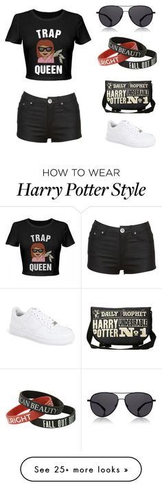 """""""Swag"""" by yasminafayza on Polyvore featuring NIKE and The Row"""