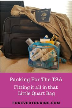 If you carry on all of your luggage, then one of the challenges is to fit all of your liquids in a tiny one quart bag. Learn the tips you need to be efficient and still take everything you need. Us Travel, Travel Tips, Packing Tips For Vacation, Ocean Cruise, Packing Light, Travel Around, Beauty Tips, Road Trip, Challenges