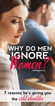 Why do men ignore women and why is he ignoring me? Here's 7 reasons why a man might pull away, go distant, and ignore a woman in a relationship. Relationship Psychology, Relationship Problems, Relationship Advice, Relationships, Sweet Texts For Him, Immature Men, Ignoring Someone, Why Men Pull Away, Love Message For Him