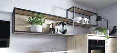 Clara 3 by IXINA - Bucătării și Electrocasnice. Cubes, Etagere Cube, Metal Furniture, Bathroom Medicine Cabinet, Floating Shelves, Sweet Home, Interior Design, Kitchen, Inspiration
