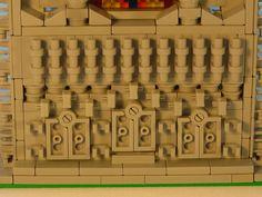 Santa Anna del Garamella 06 Building Facade, Lego Building, Lego Activities, Lego Construction, Lego Castle, Lego Moc, Legos, Santa, Lego Stuff