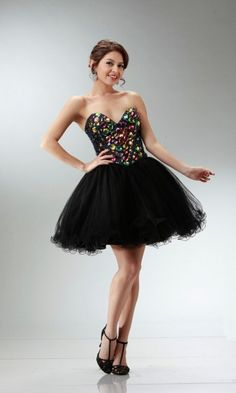 Neckline Bodice Prom Formal Dress Bustier Sweetheart Homecoming Short Strapless