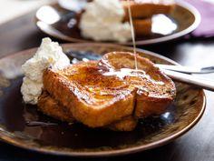 Orange-Rum Challah French Toast With Whipped Cream Really nice  Mein Blog: Alles rund um die Themen Genuss & Geschmack  Kochen Backen Braten Vorspeisen Hauptgerichte und Desserts # Hashtag