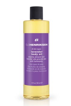 Ole Henriksen Lavender Body Oil, $28, available at DermStore.
