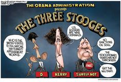 The Three Stooges: Obama, Kerry and Hagel