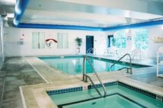 Indoor heated pools and spas  This one is at Country Inn & Suites By Carlson  Brockton, MA -  Heated Swimming Pool