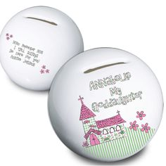 Personalised First Communion Money Box Gift For Goddaughter