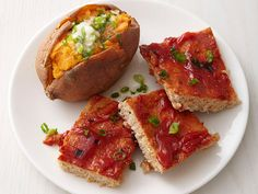 Turkey Meatloaf Squares with Sweet Potatoes Recipe : Food Network Kitchens : Food Network - FoodNetwork.com